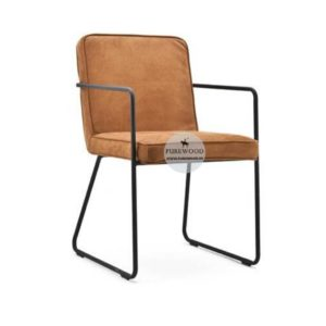 Contemporary Leather Arm Chair (2)