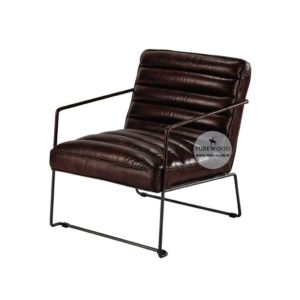 Contemporary Leather Arm Chair (6)