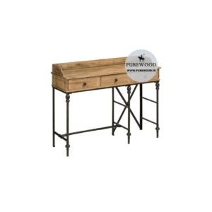 Industrial Pine Wood Furniture Table