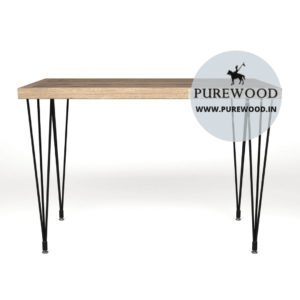 Industrial Table with Hairpin Lags