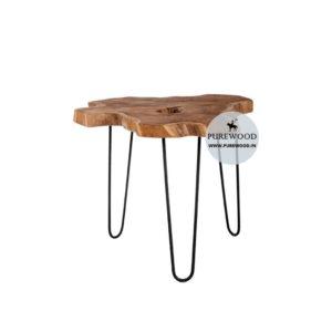 Live Edge Table Acacia Wood