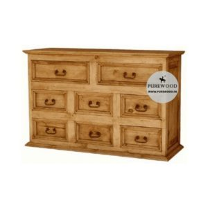 Pine Wood Furniture Cabinet