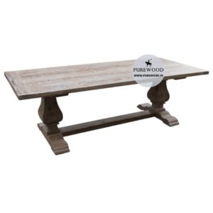 Pine Wood Furniture Dining Table