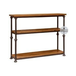 Sheesham Wood Table style storage solution