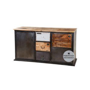 Vintage Industrial Cabinets