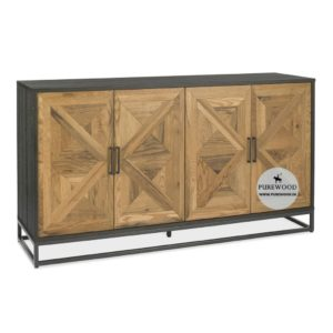 Industrial Bar Cabinet