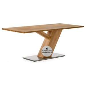 Iron Base Flate Coffe Table